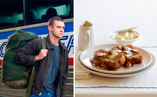 An N&#39; Sync fan paid &#36;1,025 for Justin Timberlake&#39;s half eaten French toast. FACT:  Kathy Summers, a 19-year-old woman from Wisconsin, bought the French toast after a local radio DJ put it up for sale on eBay.  Pictured: Justin Timberlake in a scene from &#39;Black Snake Moan.&#39; <span class=meta>(Photo courtesy of Paramount Pictures &#47; Annabelle Breakey)</span>
