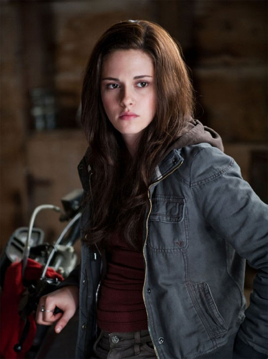 Kristen was raised the only girl among two brothers.  Her oldest and biological brother, Cameron is 24.  Her brother Taylor was adopted when he was 13 and he and Kristen are the same age.  Pictured: Kristen Stewart in a scene from 'Twilight: Eclipse'.