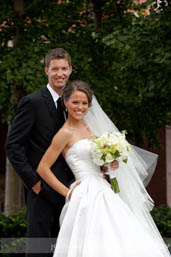 Miss America 2009 Katie Stam and boyfriend Brian Irk were engaged in January 2010.  Irk proposed in front of more than 600 people during a Miss America fundraiser. <span class=meta>(Photo courtesy of missamerica.org)</span>