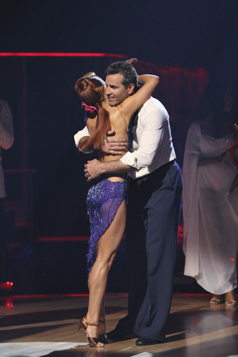 "<div class=""meta ""><span class=""caption-text "">Kurt Warner and Anna Trebunskaya react to being safe on 'Dancing With the Stars: The Results Show,' Tuesday, Oct. 12, 2010. The judges gave the couple 34 points out of 60. (KABC Photo)</span></div>"