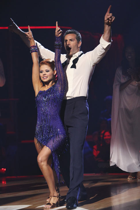 "<div class=""meta image-caption""><div class=""origin-logo origin-image ""><span></span></div><span class=""caption-text"">Kurt Warner and Anna Trebunskaya react to being safe on 'Dancing With the Stars: The Results Show,' Tuesday, Oct. 12, 2010. The judges gave the couple 34 points out of 60. (KABC Photo)</span></div>"