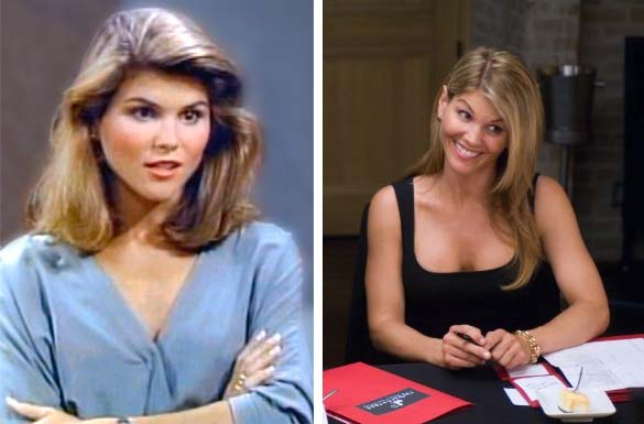 "<div class=""meta ""><span class=""caption-text "">Aunt Becky from 'Full House' was played by Lori Loughlin. She later had recurring roles on 'Hudson Street,' 'Spin City,' 'Summerland,' and 'In Case of Emergency.' She also starred in several movies and appeared alongside John Travolta and Robin Williams in the 2009 film 'Old Dogs.'  In 2008, she began playing matriarch Debbie Wilson on '90210,' a reboot of the 1990s series 'Beverly Hills, 90210.' In the spring of 2011, she announced she will not return for season 4, which sees the main characters begin attending college. Loughlin was married to her first husbamd, Michael Burns, between 1989 and 1996. She wed Mossimo Giannulli, creator of the popular 'Mossimo' clothing line, in 1997. They have two daughters together -Isabella Rose, born in September 1998, and Olivia Jade, born in September 1999.(Pictured: Lori Loughlin appears in a scene from 'Full House.' / Lori Loughlin appears in a scene from the 2009 film 'Old Dogs.') (Jeff Franklin Productions / Walt Disney Pictures)</span></div>"