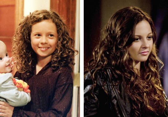 Mackenzie Rosman appears in a scene from '7th Heaven.' / Mackenzie Rosman appears in a scene from 'The Secret Life of the American Teenager.'