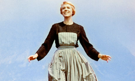 Julie Andrews stars in a scene from 'The Sound of Music'.