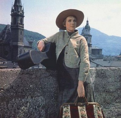 Julie Andrews stars in a scene from 'The Sound...
