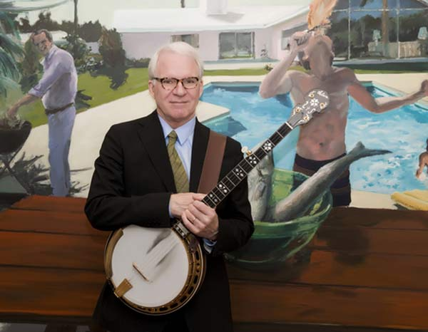 &#39;I decided to dress up as myself tonight,&#39; Steve Martin Tweeted on Oct. 31, 2010. &#39;Looked in mirror, decided to go as my older self.&#39; <span class=meta>(twitter.com&#47;SteveMartinToGo)</span>