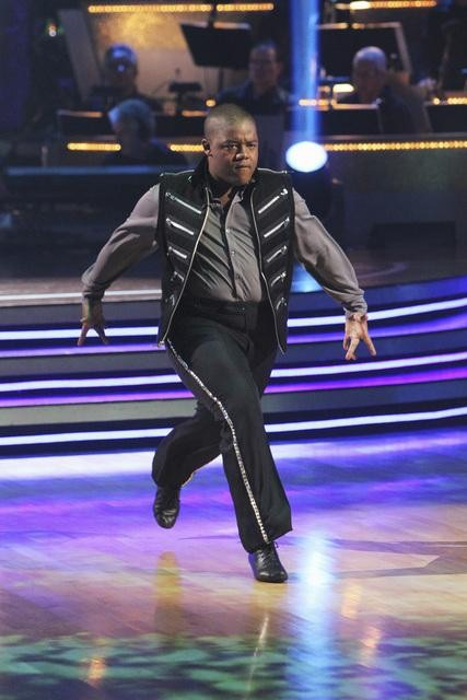 "<div class=""meta ""><span class=""caption-text "">Kyle Massey and Lacey Schwimmer perform a Paso Doble on 'Dancing With the Stars,' Monday, Nov. 1, 2010. The judges gave the couple 35 out of 40 for individual and 24 points for winning dance marathon for a total 59 out of 70. (KABC Photo)</span></div>"
