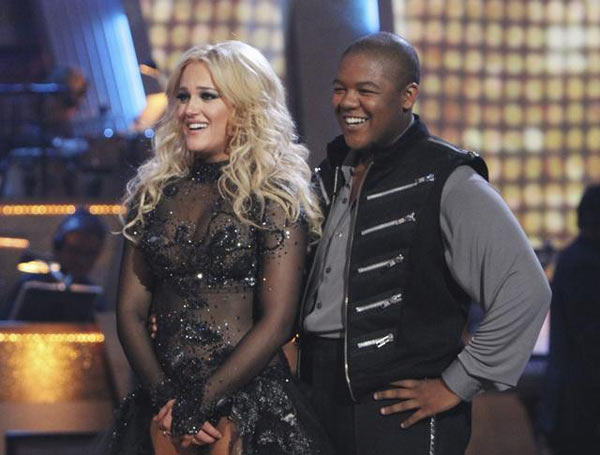 Kyle Massey and Lacey Schwimmer performed a Paso...