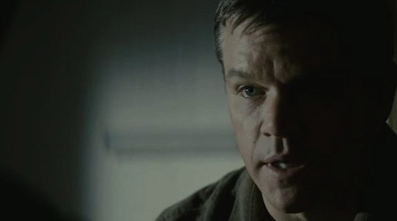 Matt Damon's wife, Luciana, gave birth to a baby girl on Oct. 20, 2010. Her name is Stella Zavala Damon. (Pictured: Matt Damon in a scene from the film 'Hereafter'.)