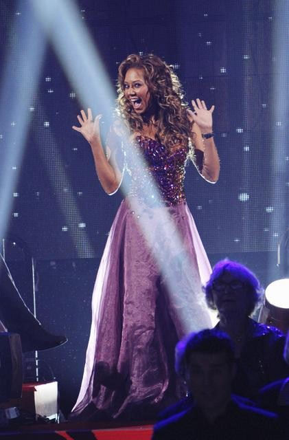 "<div class=""meta ""><span class=""caption-text "">Former contestant Mel B of the Spice Girls appears on 'Dancing With the Stars,' Monday, Nov. 1, 2010. (ABC)</span></div>"