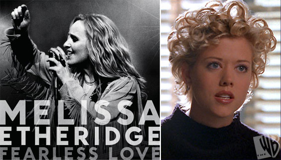 Grammy award-winning rock singer Melissa Etheridge and Tammy Etheridge, known as Tammy Lynn Michaels when she starred in the teen series &#39;Popular,&#39; ended their nearly nine-year relationship in April 2010. The two exchanged vows in the beachside community of Malibu in Los Angeles, California in September 2003. Tammy gave birth to twins in 2006 through artificial insemination from an unnamed donor. Etheridge also has a daughter and son born via a sperm donation from rocker David Crosby. Her ex-girlfriend, filmmaker Julie Cypher, has shared custody. <span class=meta>(Island and Warner Bros. Television)</span>