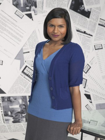 Mindy Kaling appears in a sti