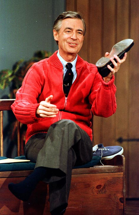 Mr. Rogers of &#39;Mister Rogers&#39; Neighborhood&#39; had a criminal and violent past. MYTH: Fred Rogers never had a violent past.  He earned a bachelor&#39;s degree in music composition 1951 and remained crime-free until his death in 2003. <span class=meta>(Photo courtesy of the Public Broadcasting Service)</span>