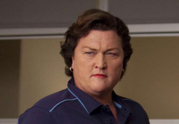 Dot Jones guest stars as Coach Beiste in...