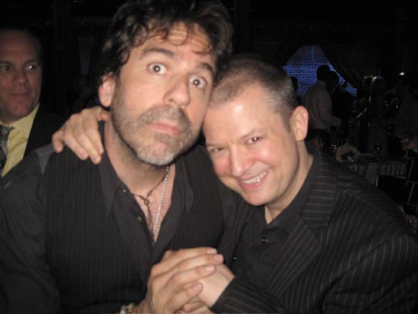 Jim Norton wrote on his  official Twitter page, &#39;Greg Giraldo passed away today. This is the last photo of us together, taken June 28 at Noam&#39;s wedding. RIP buddy.&#39; <span class=meta>(Photo courtesy of Jim Norton&#39;s official Twitter page)</span>