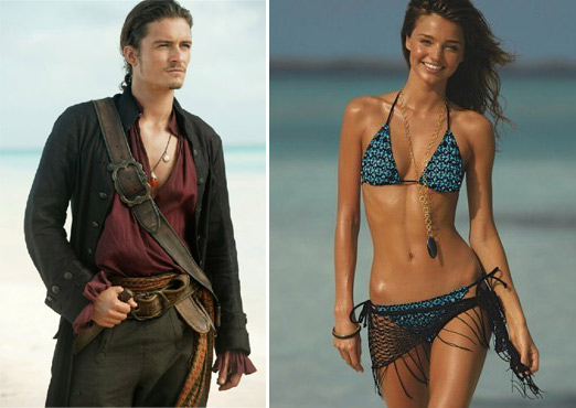 'Pirates of the Caribbean' actor, Orlando Bloom...