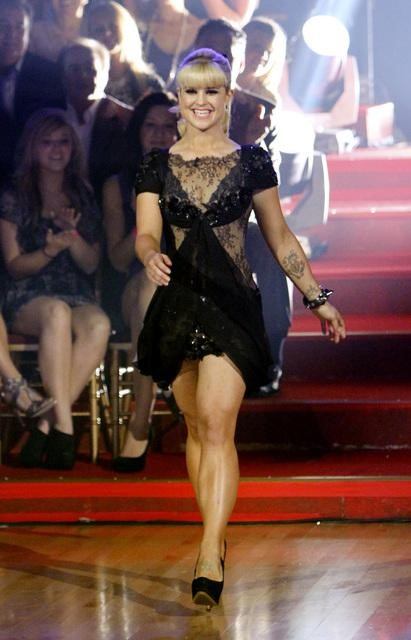 "<div class=""meta image-caption""><div class=""origin-logo origin-image ""><span></span></div><span class=""caption-text"">Former contestant Kelly Osbourne appears on 'Dancing With the Stars,' Monday, Nov. 1, 2010. (ABC)</span></div>"