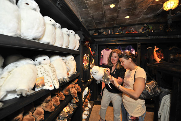 As guests exit The Wizarding World of Harry Potter&#39;s marquee attraction, Harry Potter and the Forbidden Journey, they enter Filch&#39;s Emporium of Confiscated Goods, where they can purchase an incredible array of authentic magical items inspired by the Harry Potter books and films.  <span class=meta>(Photo courtesy of Universal Orlando Resort)</span>