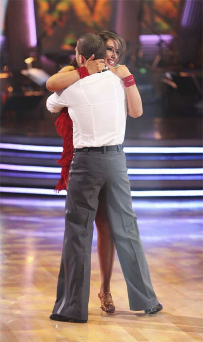 "<div class=""meta image-caption""><div class=""origin-logo origin-image ""><span></span></div><span class=""caption-text"">Bristol Palin and Mark Ballas perform on 'Dancing With the Stars,' Monday, Sept.  20, 2010. The judges gave the couple 18 points out of 30. (ABC Photo/ Adam Larkey)</span></div>"