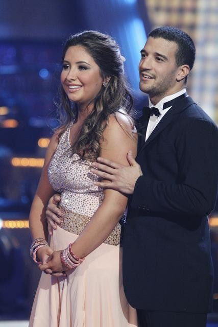 Bristol Palin and Mark Ballas perform to the...
