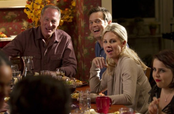 "<div class=""meta image-caption""><div class=""origin-logo origin-image ""><span></span></div><span class=""caption-text"">Tuesday, Jan. 4, 2011: 'Parenthood' - This comedy drama series, based on the Ron Howard movie by the same name, continues its second season on NBC at 10 p.m. ET. (Pictured: Craig T. Nelson, Monica Potter and Peter Krause appear in a scene from 'Parenthood.') (NBC)</span></div>"