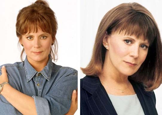 Promotional still of Patricia Richardson for 'Home Improvement.'/Personal shot of Patricia Richardson.