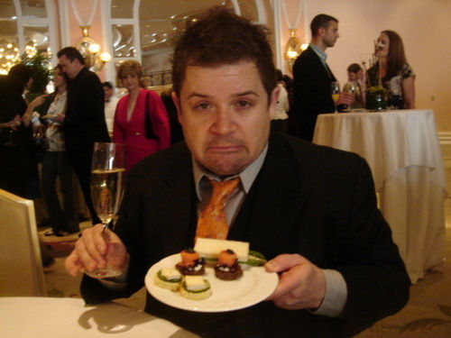 Patton Oswalt appears in a photo posted on his official Twitter page.