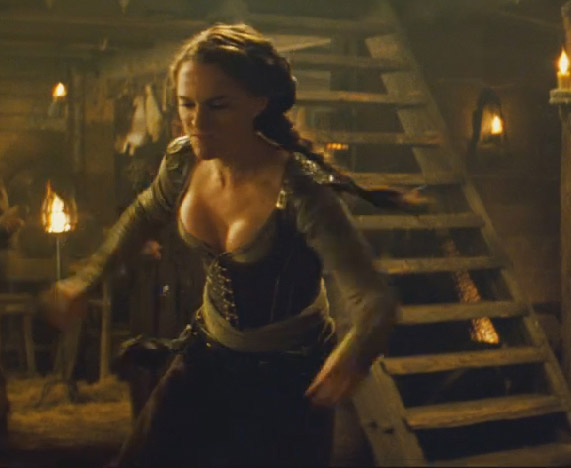Natalie Portman plays the warrior Isabel in the 2011 fantasy comedy movie, 'Your Highness.'