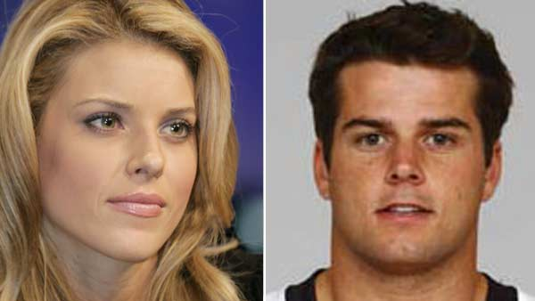 Former Miss California, Carrie Prejean wed Oakland Raiders Quarterback Kyle Boller on July 2, 2010.  Prejean made headlines during the Miss USA pageant when she declared that marriage should be between a man and a woman and was stripped of her crown following her remarks.  She was also accused by pageant officials of missing scheduled events, which she denies. <span class=meta>(Photo courtesy of ESPN)</span>
