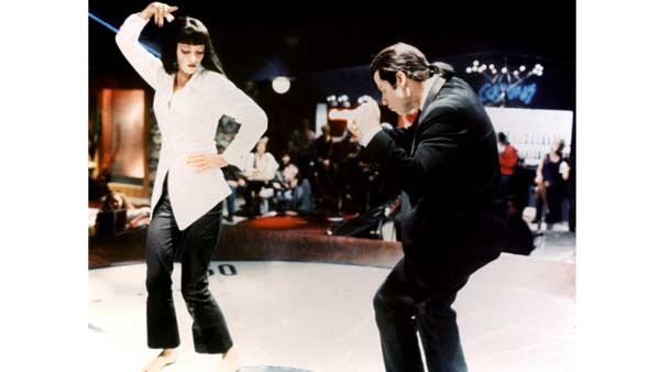 Sally Menke worked as a film editor in Quentin Tarantino&#39;s 1994 movie, &#39;Pulp Fiction.&#39; In this scene, Uma Thurman and John Travolta are shown dancing. <span class=meta>(Photo courtesy of Miramax Films &#47; A Band Apart &#47; Lawrence Bender Productions)</span>