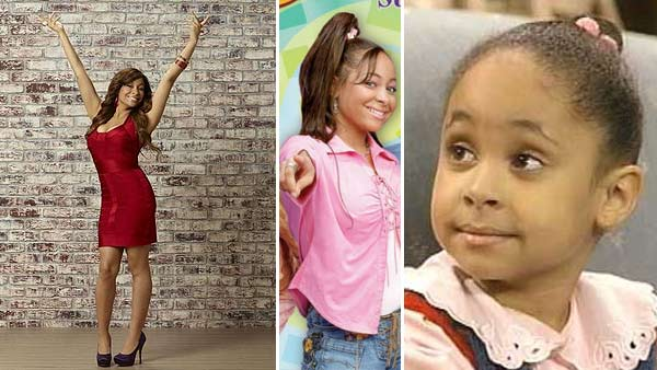 Raven-Symone appears in a 2011 promotional photo for her ABC Family show 'State of Georgia.' /  Raven-Symon in 'That's So Raven' / Raven-Symone as little Olivia on 'The Cosby Show.'