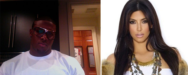 On-and-off again couple, Kim Kardashian and pro football player, Reggie Bush finally split in March 2010 after three years of dating.  Kim&#39;s busy schedule was an ongoing conflict with the couple.  Their break up was mutual.  <span class=meta>(Photos courtesy of twitter.com&#47;kimkardashian and twitter.com&#47;reggie_bush)</span>