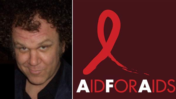&#39;What scares me is the lack of charitable giving in America,&#39; John C. Reilly told OnTheRedCarpet.com. &#39;I know we are in tough economic times, but charities like Aid for Aids really still need our help.&#39; <span class=meta>(twitter.com&#47;John_C_Reilly &#47; Aidforaids.com)</span>
