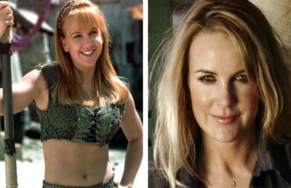 Renee O'Connor appears in a scene from 'Xena: Warrior Princess.' / Renee O'Connor appears in a publicity photo.