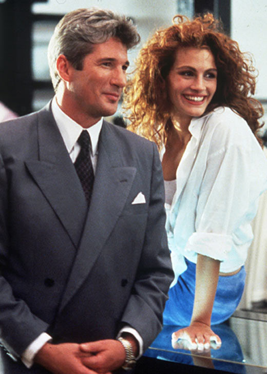 Richard Gere was once admitted to the emergency room with a gerbil lodged in his rectum. MYTH: Completely false. Pictured: Richard Gere and Julia Roberts in a scene from 'Pretty Woman.'