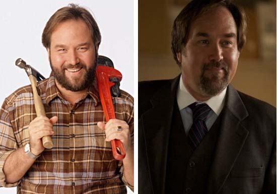 Tim Taylor&#39;s witty co-host on &#39;Tool Time&#39; and the brunt of most of his jokes was Al Borland, played by Richard Karn. When the show went off air in 1999, Karn did not see much of a career. He starred in a few children&#39;s movies such as &#39;Air Bud: Seventh Inning Fetch&#39; and &#39;Air Buddies.&#39; From 2002 to 2006, he replaced Louie Anderson as the host of &#39;Family Feud.&#39; In 2009, Karn&#39;s had a recurring role in the television series, &#39;Ctrl.&#39; As of 2010, he has been working on a comedy titled &#39;Poolboy: Drowning Out the Fury&#39; starring Kevin Sorbo. He married actress Tudi Roche, who made a few appearances on &#39;Home Improvement&#39; as Jill&#39;s sister, in 1985. They have a son, Cooper Karn Wilson, born in 1992.  <span class=meta>(Touchstone Television&#47;SXM)</span>