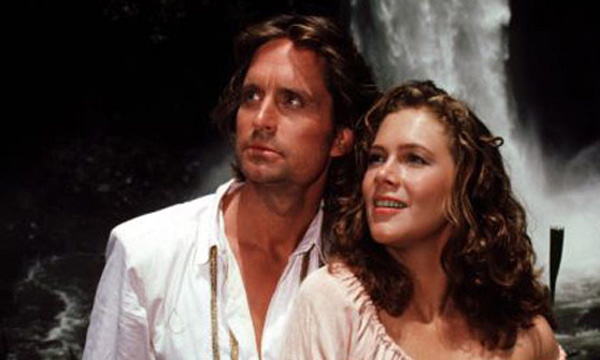 "<div class=""meta ""><span class=""caption-text "">'Romancing the Stone' (1984): Michael Douglas produced and starred in this film, where he played adventurer Jack Colton. (Photo courtesy of Twentieth Century Fox Film Corporation)</span></div>"