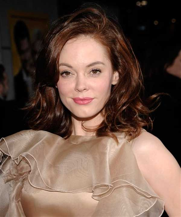 Former &#39;Charmed&#39; star Rose McGowan wrote on her Twitter page, &#39;Yay! No more Prop H8! I wanna be a flower girl in a wedding asap!&#39; <span class=meta>(AP Photos)</span>