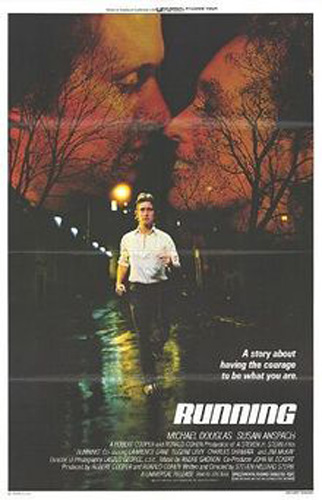 &#39;Running&#39; &#40;1979&#41;: Playing the role of a hopeful Olympic runner, Michael Douglas&#39; character struggles with his family&#39;s lack of support.  <span class=meta>(Photo courtesy of Canadian Film Development Corporation)</span>
