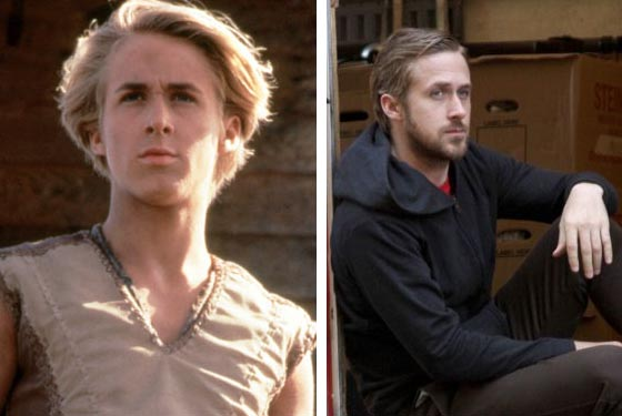 Ryan Gosling appears in a scene from the television series 'Young Hercules.' / Ryan Gosling appears in a scene from the 2010 movie 'Blue Valentine.'