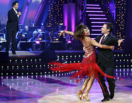 In February 2006, the season 2 winners were Drew Lachey and Cheryl Burke.  Lachey is best known for being a member of the pop group &#39;98 Degrees&#39; along with his older brother, Nick Lachey.  Recently, viewers of the show voted his freestyle dance with Cheryl Burke to the Big &amp; Rich song &#39;Save a Horse, Ride a Cowboy&#39; as the best &#39;Dancing With the Stars&#39; performance of all time. <span class=meta>(Photo courtesy of ABC)</span>