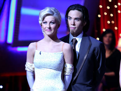 "<div class=""meta ""><span class=""caption-text "">Apolo Anton Ohno and Julianne Hough were announced as the season 4 winners of 'Dancing with the Stars' in the spring of 2007.  Ohno is an eight-time Olympic medalist as a short track skater. (Photo courtesy of ABC)</span></div>"