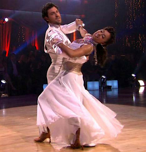 Season 5&#39;s second place winners were Mel B and Maksim Chmerkovskiy.  Mel B was a member of the girl group the &#39;Spice Girls&#39; and was given the nickname &#39;Scary Spice.&#39;  <span class=meta>(Photo courtesy of ABC)</span>