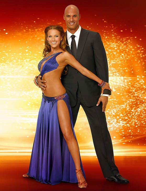 In season 6, Jason Taylor and Edyta Sliwinska were named as the second place winners.  Taylor is an NFL defensive end for the Miami Dolphins.  In 2007, he was awarded the Walter Payton NFL Man of the Year Award for his playing achievements and his charitable contributions. <span class=meta>(Photo courtesy of ABC)</span>