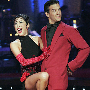 "<div class=""meta image-caption""><div class=""origin-logo origin-image ""><span></span></div><span class=""caption-text"">In the spring of 2008, Kristi Yamaguchi and Mark Ballas were crowned as 'Dancing with the Stars' season 6 champions.  Yamaguchi is a 1992 Olympic Champion figure skater who also won two World Figure Skating Championships in 1991 and 1992. (Photo courtesy of ABC)</span></div>"