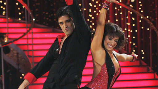 The runner-ups for season 8 were Gilles Marini and Cheryl Burke.  Marini is a famous actor who appeared in &#39;Sex and the City: The Movie&#39; and has appeared on TV series such as &#39;Nip&#47;Tuck,&#39; &#39;Ugly Betty&#39; and &#39;Criminal Minds.&#39;  Recently, Marini was signed as a regular cast member on the ABC series, &#39;Brothers &amp; Sisters.&#39; <span class=meta>(Photo courtesy of ABC)</span>