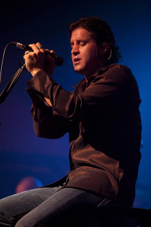 Singer Scott Stapp certainly had a happy July...