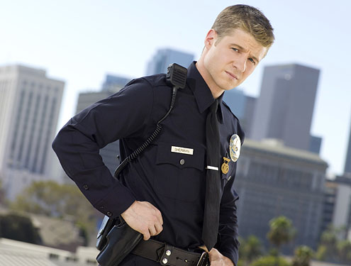 (Pictured: Ben McKenzie as Officer Ben Sherman...