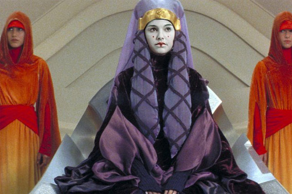 "<div class=""meta ""><span class=""caption-text "">After playing the role of Queen Amidala in the 'Star Wars' prequel, Natalie worried about the attention should would get from fans. 'I thought it would be awful,' she told 'People,' 'But I can still walk down the street alone and not worry about anyone accosting me.'   (Photo courtesy of Lucasfilm)</span></div>"