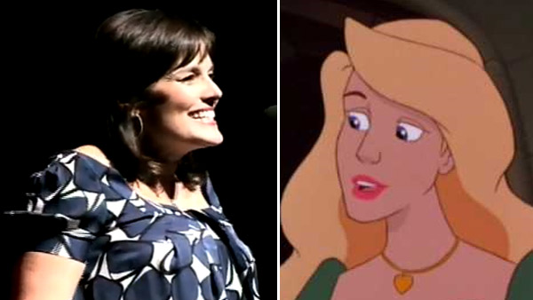Michelle Nicastro, an actress who introduced Meg Ryan&#39;s Sally to Billy Crystal&#39;s Harry in the iconic 1980s film &#39;When Harry Met Sally...&#39; and voiced the lead role in &#39;The Swan Princess&#39; movies, died on Nov. 4, 2010 at age 50 after battling breast cancer for 10 years. <span class=meta>(youtube.com&#47;user&#47;haineshisway &#47; Nest Family Entertainment &#47; Columbia Pictures)</span>